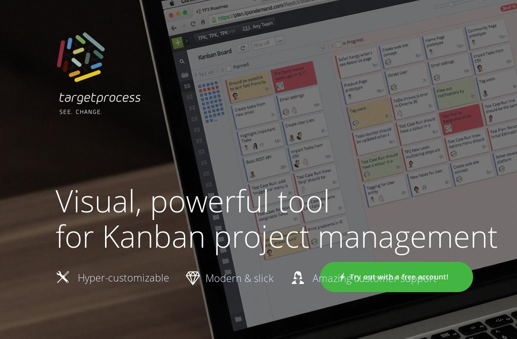 Kanban project management tool