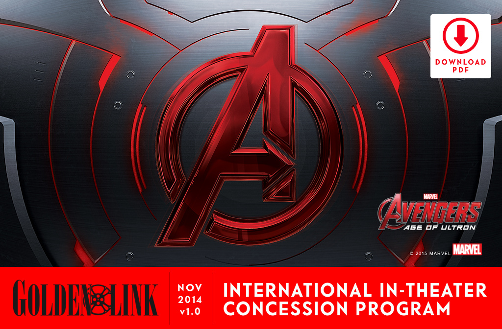AVENGERS AGE OF ULTRON  PRELIM SALES DECK