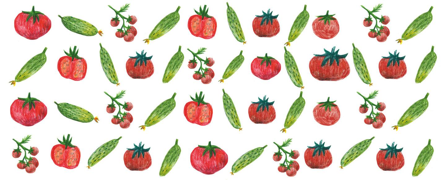 Как найти съедобные огурцы и помидоры by anna readymag Курсовая работа для Школы редакторов Бюро Горбунова 2016